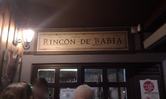 Tapeando en bar rinc n de babia barrio h medo todas sus - Rincon de babia ...